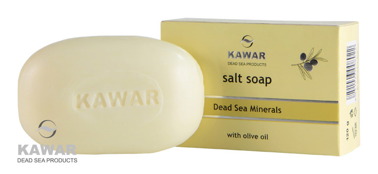 Zobrazit detail výrobku Kawar Mýdlo s obsahem soli z Mrtvého moře 120 g