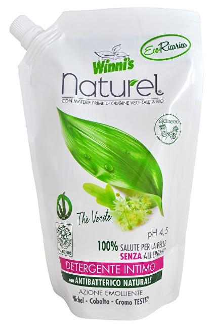 Zobrazit detail výrobku Winni´s Tekuté mýdlo pro intimní hygienu se zeleným čajem - náhradní náplň 500 ml