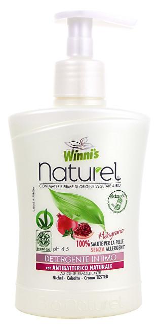 NATUREL Sapone Intimo Melograno tekuté mýdlo pro intimní hygienu s granátovým jablkem 250 ml