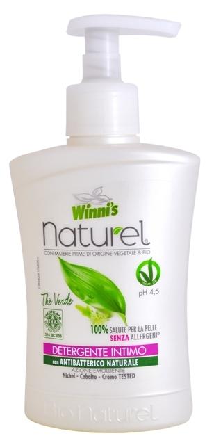 NATUREL Sapone Intimo The Verde tekuté mýdlo pro intimní hygienu se zeleným čajem 250 ml