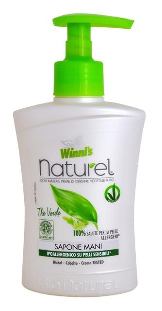 Zobrazit detail výrobku Winni´s NATUREL Sapone Mani The Verde tekuté mýdlo se zeleným čajem 250 ml