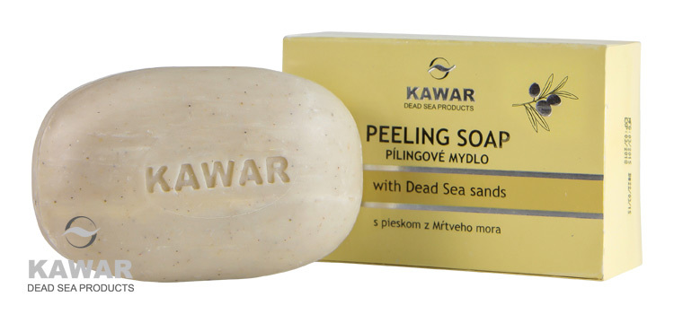 Zobrazit detail výrobku Kawar Peelingové mýdlo s pískem z Mrtvého moře 120 g