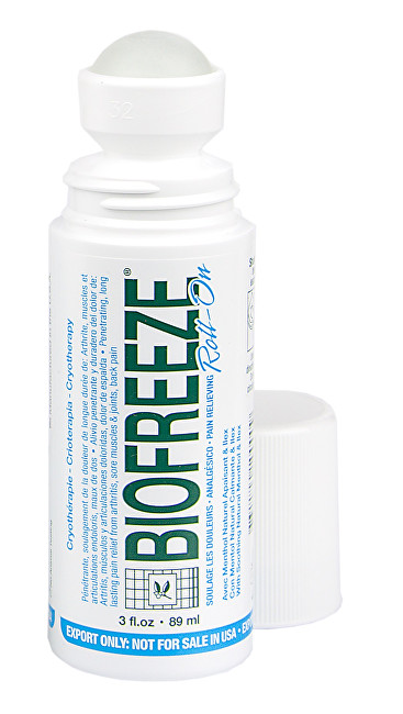 Biofreeze Roll-on na utíšenie bolesti 89 ml