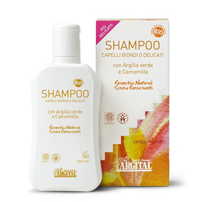 Rozjasňující šampon na blond a jemné vlasy s heřmánkem 250 ml