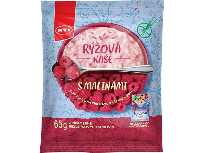 Zobrazit detail výrobku Semix Rýžová kaše malinová 65g
