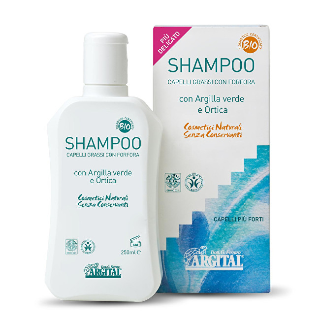 Zobrazit detail výrobku Argital Šampon na mastné vlasy a proti lupům s kopřivou 250 ml