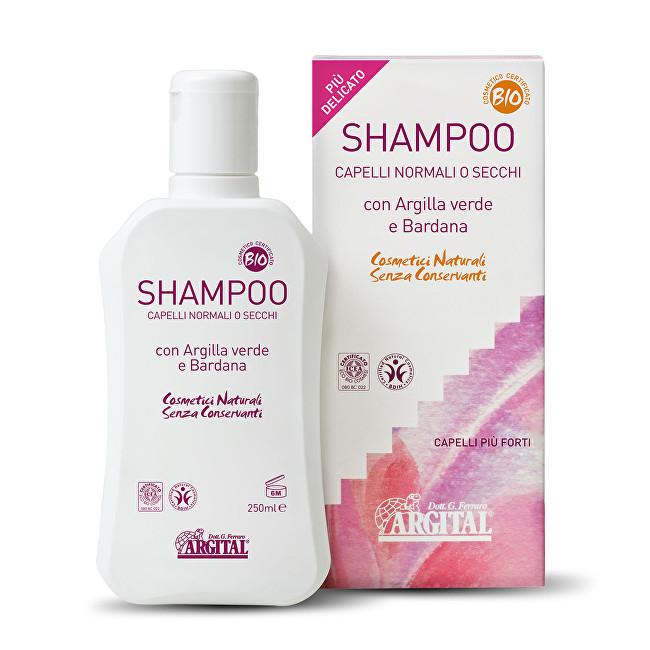 Zobrazit detail výrobku Argital Šampon na normální a suché vlasy s lopuchovým kořenem 250 ml - SLEVA - pomačkaná krabička