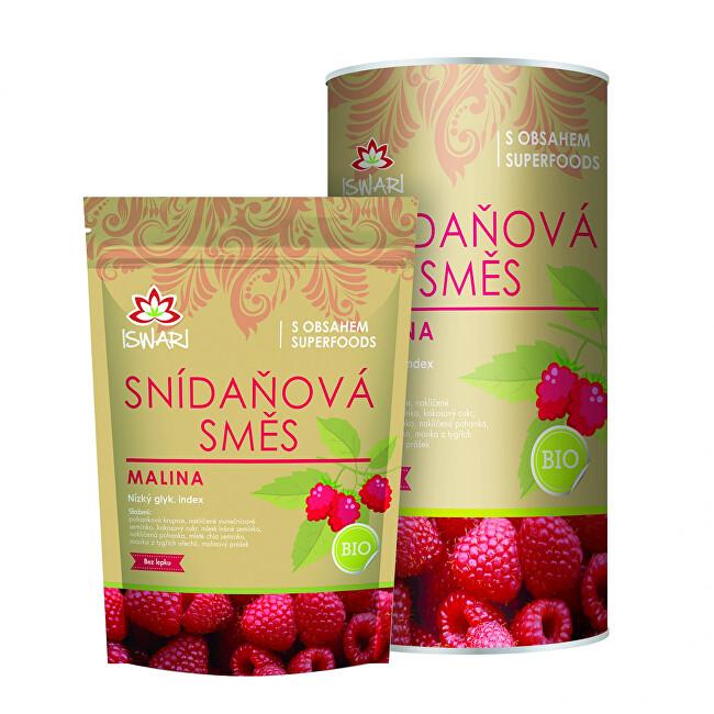 Zobrazit detail výrobku Iswari Snídaňová směs malina 300 g