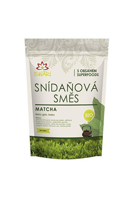 Zobrazit detail výrobku Iswari Snídaňová směs matcha 300 g