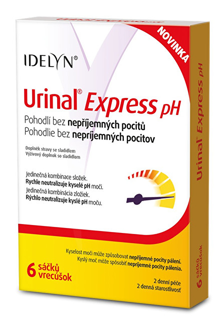 Idelyn Urinal Express pH 6 sáčků
