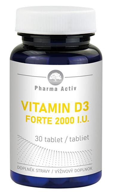 Vitamin D3 Forte 2000 I.U. 30 tablet