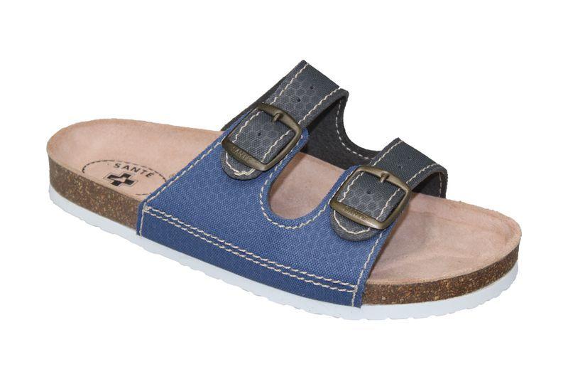 Zobrazit detail výrobku SANTÉ Zdravotní obuv dámská D/21T/910/925/BP šedo-modrá 35