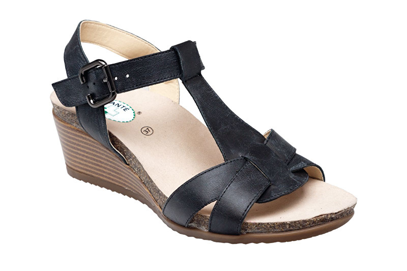 SANTÉ Zdravotná obuv dámska EKS / 152-31 Black 39