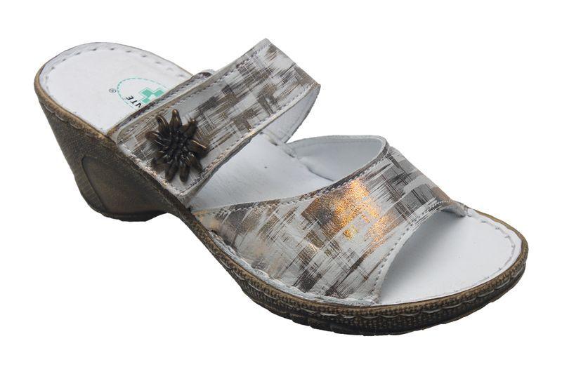 SANTÉ Zdravotná obuv dámska N / 309/2 / 10C metal 39