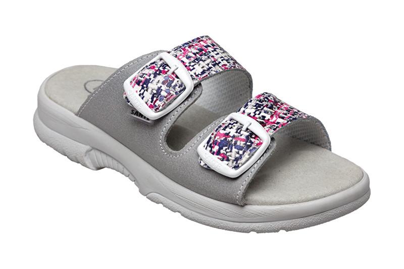 SANTÉ Zdravotná obuv dámska N / 517/33 / 10M / 19 / BP grafiti-šedá 39