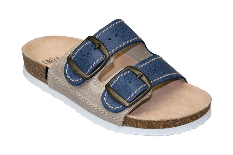 SANTÉ Zdravotná obuv detská D / 202/86 / S12 / BP modrá (veľ. 27-30) 30