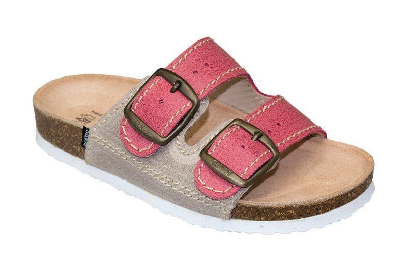 SANTÉ Zdravotná obuv detská D / 202 / C30 / S12 / BP červená (veľ. 27-30) 30
