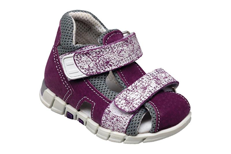 Zobrazit detail výrobku SANTÉ Zdravotní obuv dětská N/810/402/S75/A75 fialová (vel. 27-30) 28