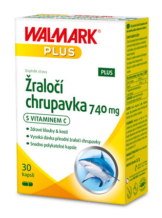 Žraločí chrupavka PLUS 740 mg 30 kapslí