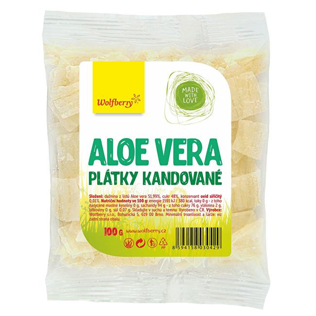 Zobrazit detail výrobku Wolfberry Aloe vera kandované plátky 100 g