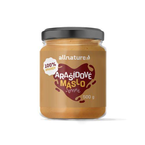 Zobrazit detail výrobku Allnature Arašídové máslo jemné 500 g