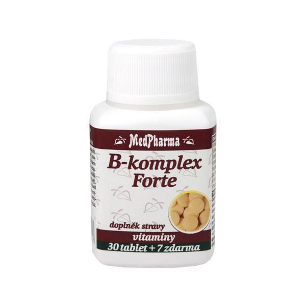 Zobrazit detail výrobku MedPharma B-komplex Forte 30 + 7 tablet ZDARMA