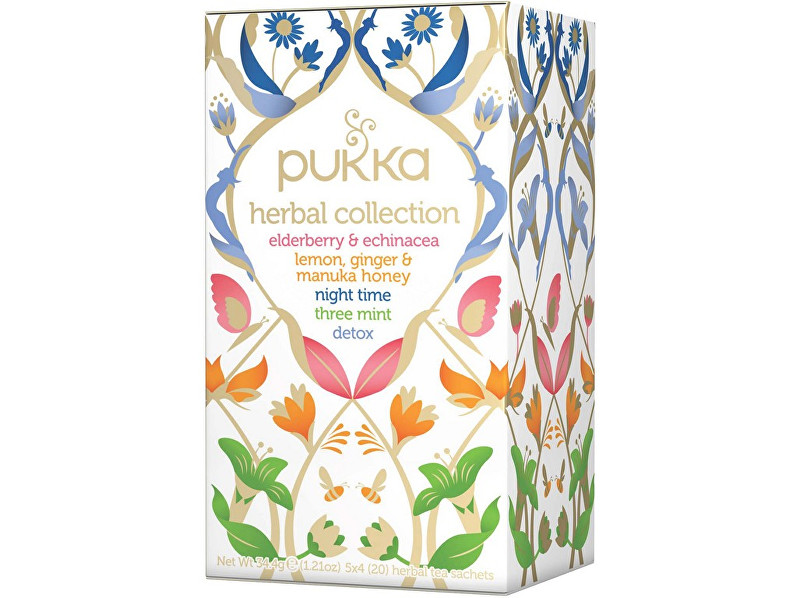 PUKKA Bio čaj Herbal Collections 20x1,7g