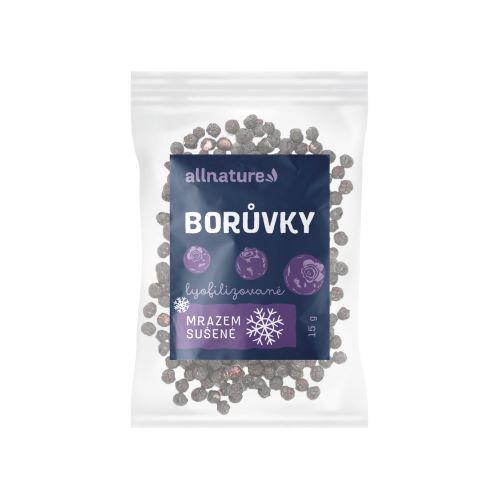 Zobrazit detail výrobku Allnature Borůvka sušená mrazem celá 15 g