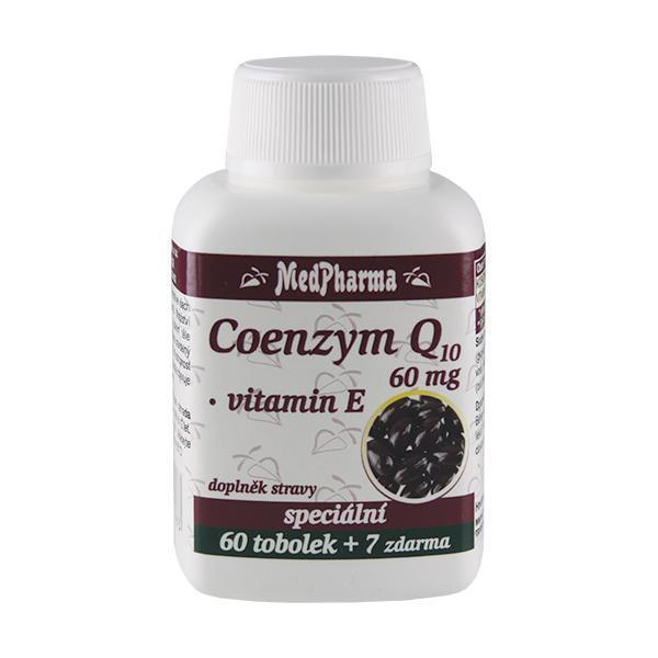 Zobrazit detail výrobku MedPharma Coenzym Q10 60 mg FORTE 60 tob. + 7 tob. ZDARMA