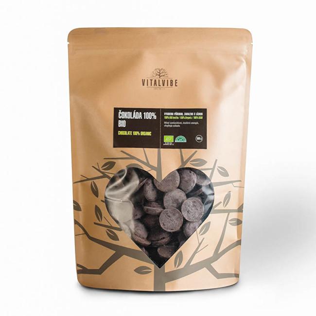 Zobrazit detail výrobku Vitalvibe Čokoláda 100% BIO 500 g