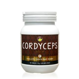Empower Supplements Cordyceps PREMIUM 100 kapslí