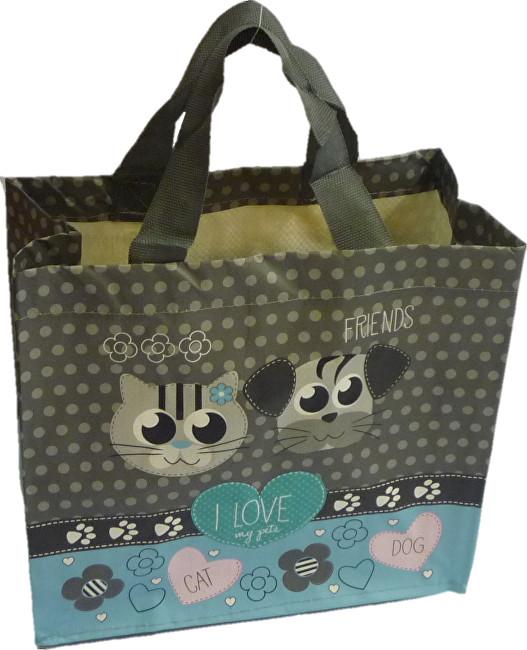 Zobrazit detail výrobku KPPS ECO taška I Love Pets modrá