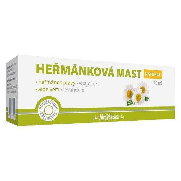 Zobrazit detail výrobku MedPharma Heřmánková mast 75 ml