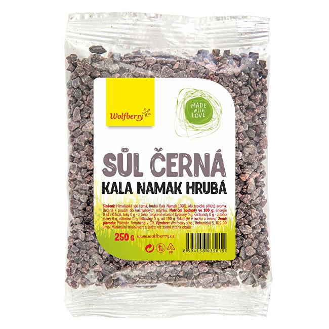 Zobrazit detail výrobku Wolfberry Himalájská sůl černá hrubá KALA NAMAK 250 g