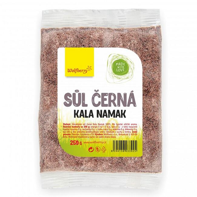 Wolfberry Himalájská sůl černá KALA NAMAK 250 g