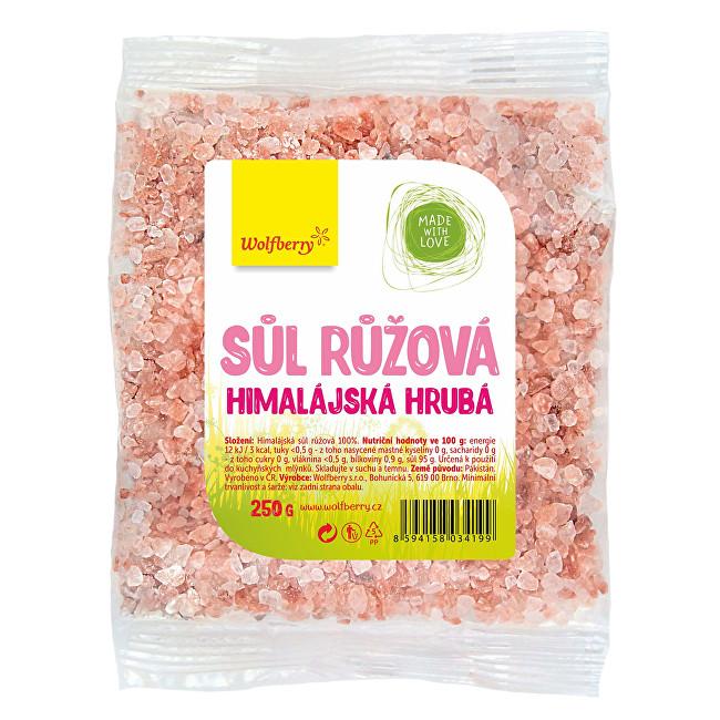 Zobrazit detail výrobku Wolfberry Himalájská sůl růžová hrubá 250 g