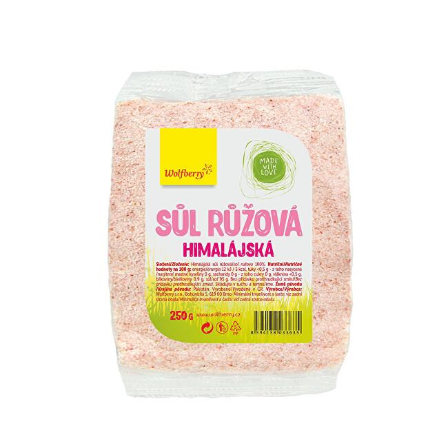 Zobrazit detail výrobku Wolfberry Himalájská sůl růžová 700 g