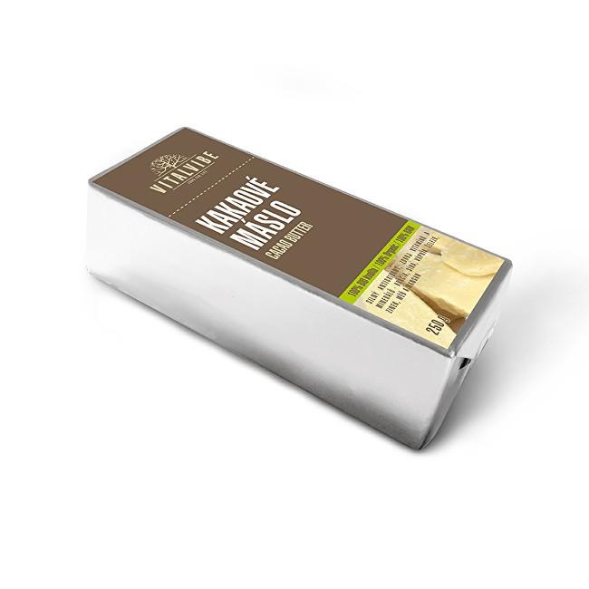 Zobrazit detail výrobku Vitalvibe Kakaové máslo BIO 250 g