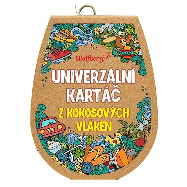 Zobrazit detail výrobku Wolfberry Kartáč z kokosových vláken velký Malý 10 x 8 cm