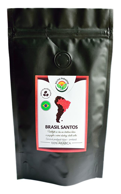 Zobrazit detail výrobku Salvia Paradise Káva - Brasil Santos 100 g