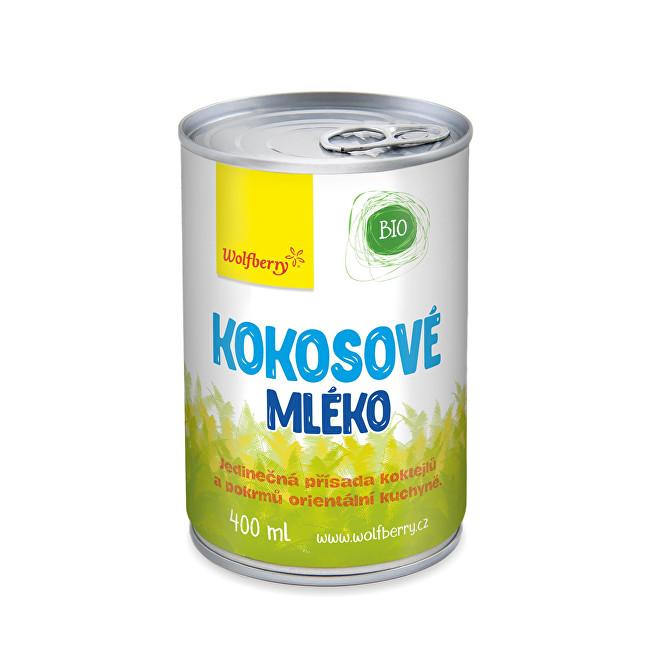 Zobrazit detail výrobku Wolfberry Kokosové mléko BIO 400 ml
