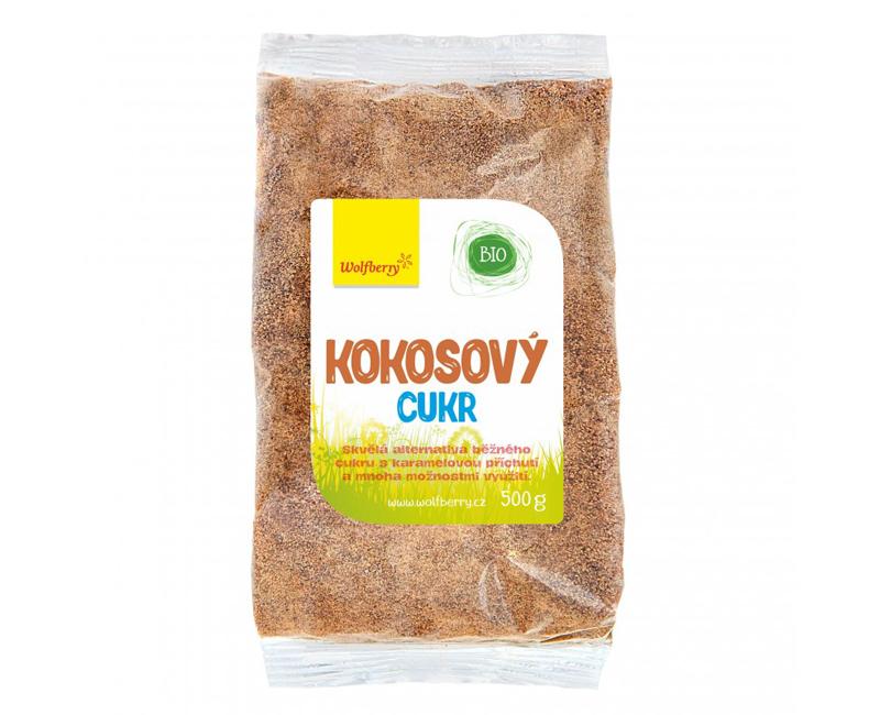 Zobrazit detail výrobku Wolfberry Kokosový cukr BIO 500 g