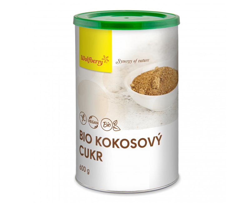 Zobrazit detail výrobku Wolfberry Kokosový cukr BIO 600 g
