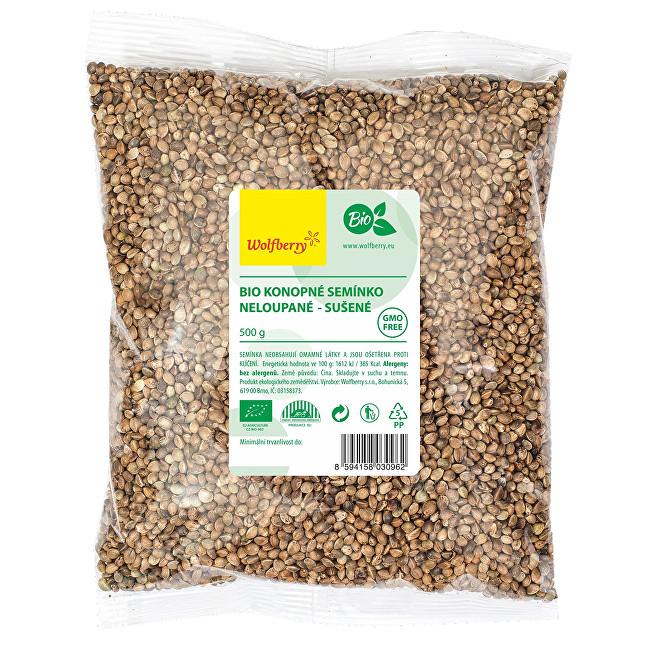 Zobrazit detail výrobku Wolfberry Konopné semínko neloupané BIO 500 g