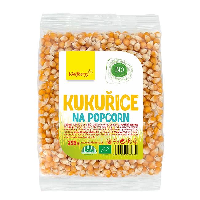 Zobrazit detail výrobku Wolfberry Kukuřice na popcorn BIO 250 g