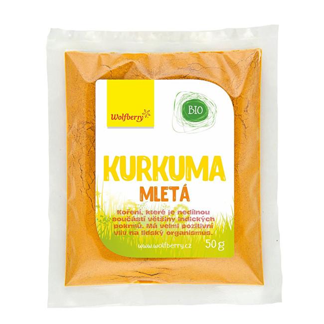 Zobrazit detail výrobku Wolfberry Kurkuma mletá Bio 50 g