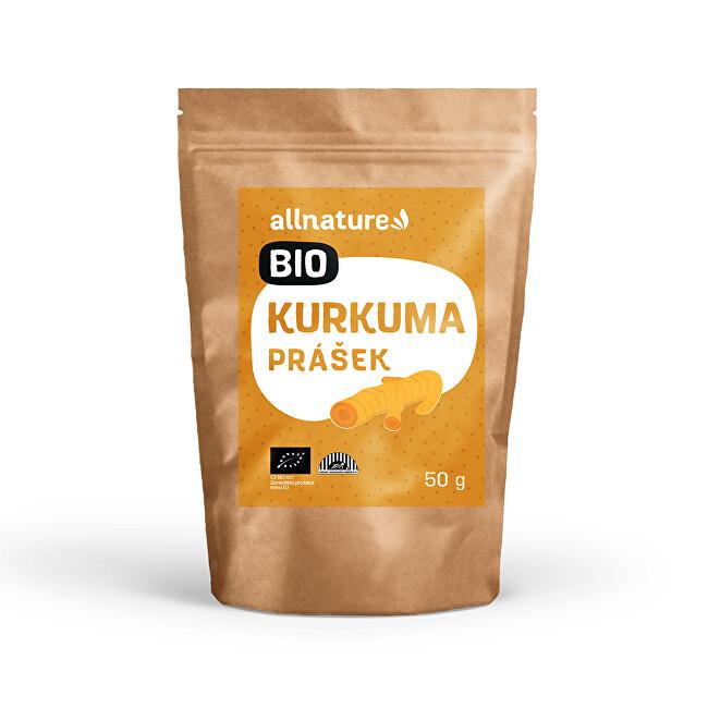 Zobrazit detail výrobku Allnature Kurkuma prášek BIO 50 g