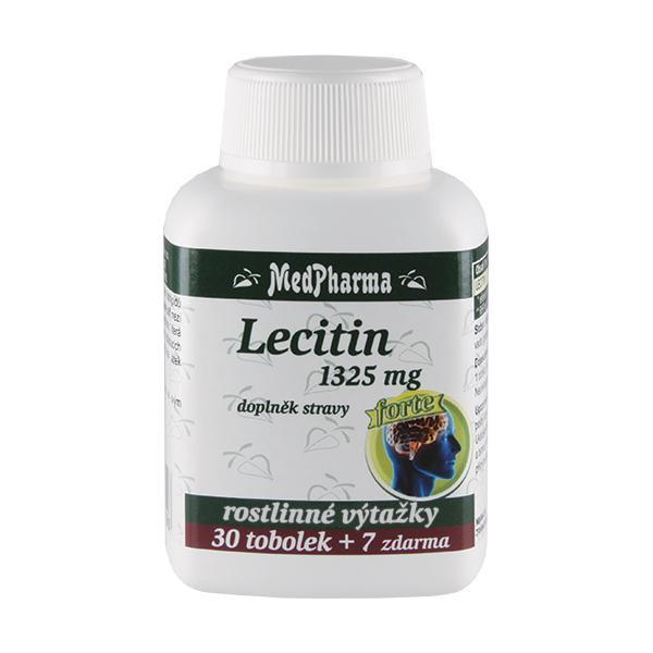 Zobrazit detail výrobku MedPharma Lecitin Forte 1325 mg 37 kapslí