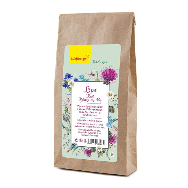 Zobrazit detail výrobku Wolfberry Lípa bylinný čaj 50 g