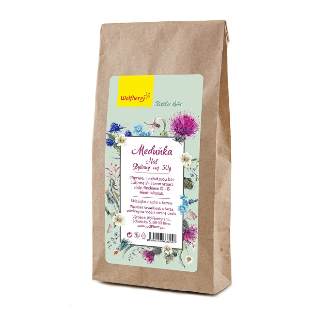 Zobrazit detail výrobku Wolfberry Meduňka nať bylinný čaj 50 g